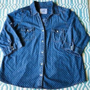 Denim 💙 Shirt